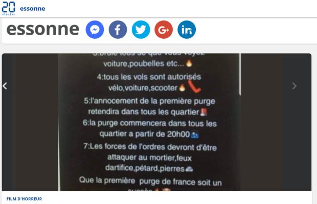 Pause café actualité Essonne31 10 2018